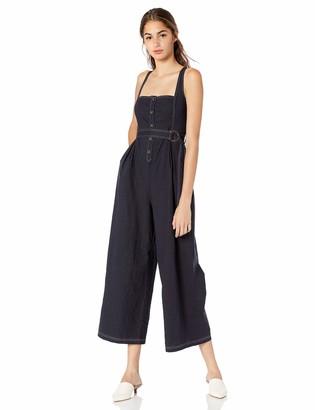 ASTR the Label Women's Warwick Sleeveless Wideleg Casual Jumpsuit