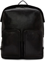 Jimmy Choo Black Leather Backpack