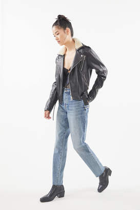 Pistola Denim Presley High-Waisted Straight Leg Jean Rocksteady