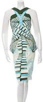 Peter Pilotto Sleeveless Printed Dress w/ Tags