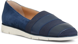 Donald J Pliner May Leather & Suede Flat
