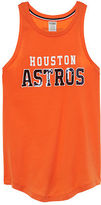 PINK Houston Astros Bling Rib Neck Tank