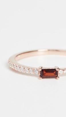 My Story 14k The Julia Birthstone Ring - January