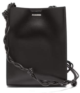 Jil Sander Tangle Small Knotted-strap Leather Cross-body Bag - Womens - Black