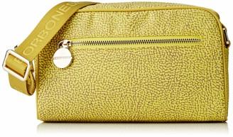 Borbonese Women's 934422X96 Cross-Body Bag Yellow Yellow (GIALLO/GIALLO W80)