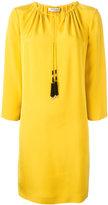 Etro Tassel tie-neck shift dress - women - Silk - 48