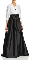Adrianna Papell Layered-Look Gown