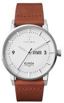 Triwa Klinga Leather Strap Watch, 38Mm