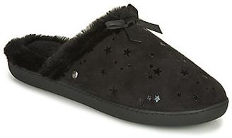 Isotoner 97272 women's Flip flops in Black