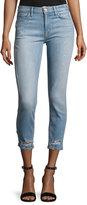 Hudson Savy Mid-Rise Crop Straight Denim Jeans, Indigo