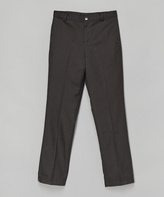 E-Land Kids Medium Gray Dress Pants - Toddler & Boys