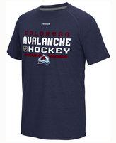 Reebok Men's Colorado Avalanche Center Ice Locker Room T-Shirt