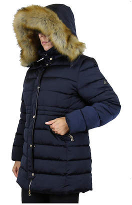 Spire By Galaxy Women Heavyweight Parka Jacket With Detachable Fur Hood