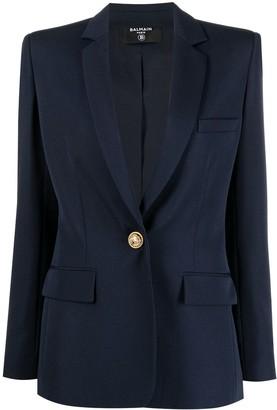 Balmain Single-Breasted Tailored Blazer