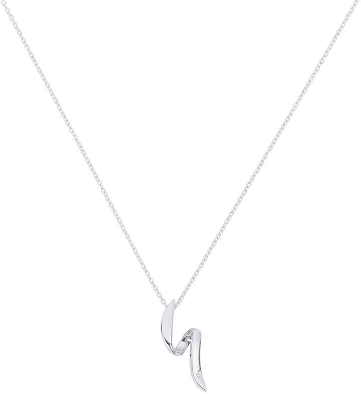Hot Diamonds Accents By Accents by Sterling Silver Flow Necklace