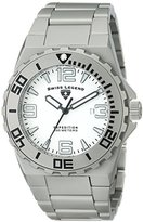 "Swiss Legend Men's 10008-22S-SB ""Expedition"" Matte Grey Stainless Steel Watch with Link Bracelet"