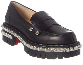 Christian Louboutin Leather Loafer