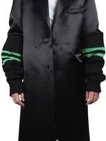 Raf Simons Wool Knit Striped Sleeves