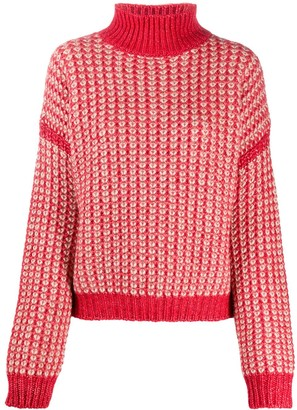 HUGO BOSS Textured Knit Jumper