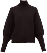 Acne Studios Kelenor Balloon-sleeve Sweater - Womens - Black