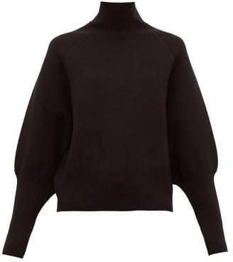 Acne Studios Kelenor Balloon-sleeve Sweater - Womens - Black