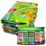 Denny International® Kids Crawling Educational Play Mat 2 Side Game Soft Foam Large Size Picnic Carpet 200X180cm (Fruits Design)