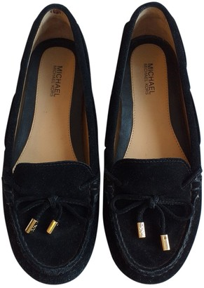 Michael Kors Black Leather Flats