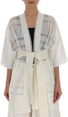 Ballantyne Crotchet Belted Kimono