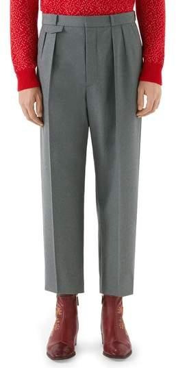 Gucci High Waist Wide Leg Trousers