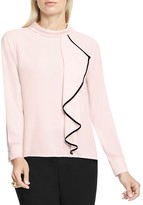 Vince Camuto Front Ruffle Top