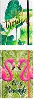 Tricoastal Design Tri Coastal Design Palm Journal - Set of 2