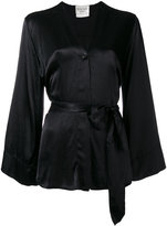 Forte Forte belted kimono jacket - women - Viscose - 0