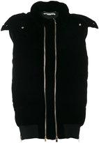 Stella McCartney puffer gilet - women - Cotton/Polyester/Spandex/Elastane/Wool - 36