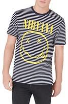 Topman Men's Nirvana Stripe T-Shirt