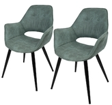 Lumisource Mustang Accent Chairs (Set of 2)