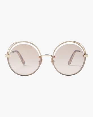 Roberto Cavalli Metal Round &Snake& Sunglasses