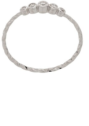 Maria Black 14kt white gold Ally diamond ring