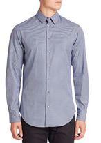 Giorgio Armani Sail Print Button-Down Shirt