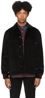 Paul Smith Black Corduroy Overshirt