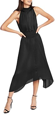 1 STATE Pleated Midi Dress