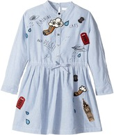 Burberry Detailed Shirtdress Girl's Dress