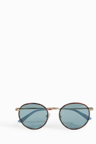 Orlebar Brown Amber Round Sunglasses