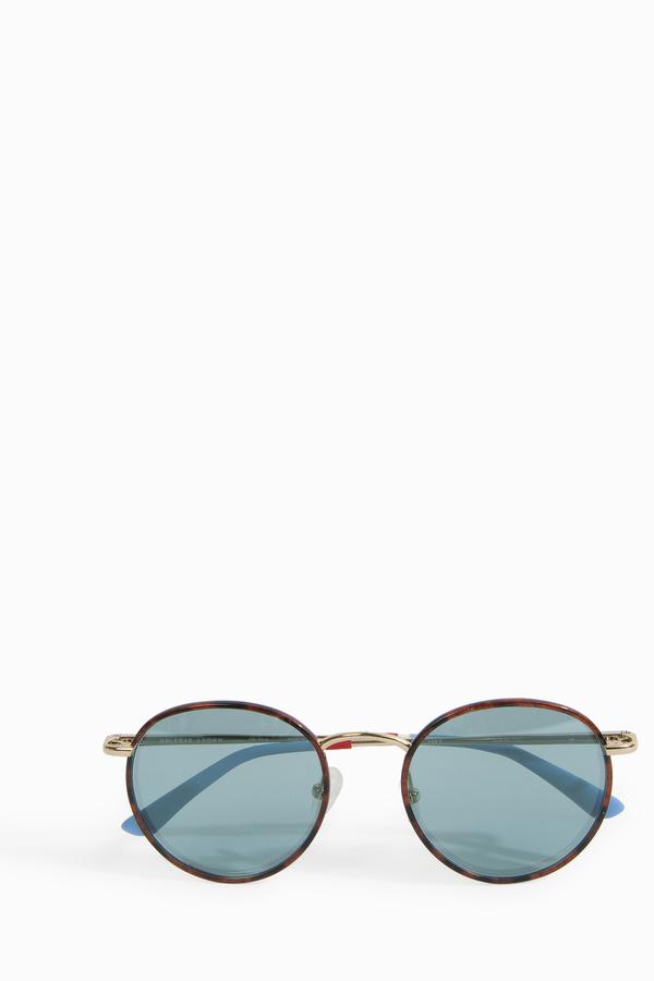 Orlebar Brown Amber Round Sunglasses