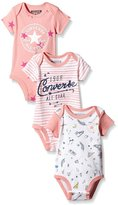 Converse Baby Vests 3 Piece Gift Set - Assorted - 0-3 Months / 50-55 cm