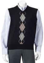 Dockers Big & Tall Classic-Fit Argyle Comfort Touch Sweater Vest