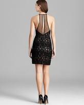 BCBGMAXAZRIA Petites Petites Sleeveless Lace Dress - Tenya