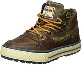 Wrangler Boys' NEBRASKA PEAK JR Low-Top Sneakers Brown Size: