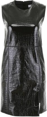 MSGM Croc-print Mini Dress