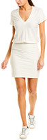 James Perse Blouson Mini Dress