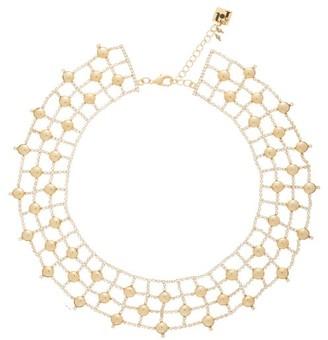 Rosantica Barcelo Crystal-embellished Choker - Gold